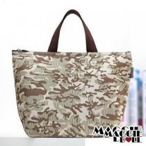 Insulated Tote Bag Cooler Lunch Box Bag - Camouflage